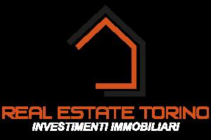 logo Real Estate Torino nero-bianco